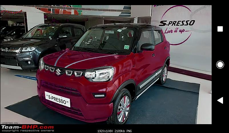 Maruti S-Presso, the SUV'ish hatchback. EDIT : Launched at Rs. 3.69 lakhs-c360_20191014105806333.png