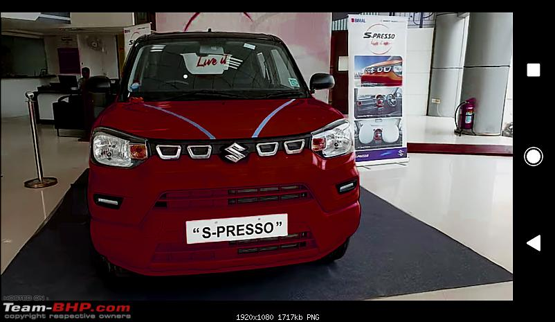 Maruti S-Presso, the SUV'ish hatchback. EDIT : Launched at Rs. 3.69 lakhs-c360_20191014112548220.png