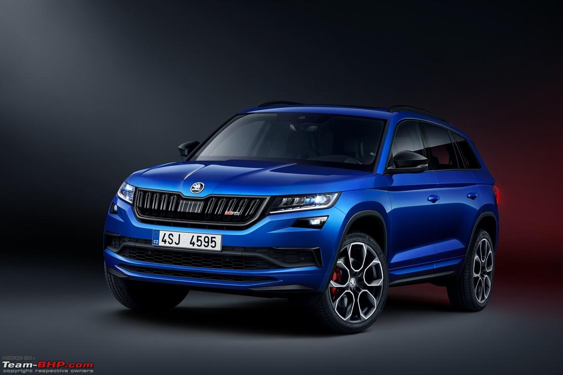 Rumour Skoda Kodiaq Rs To Be Launched In 2020 Team Bhp