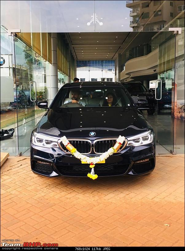 The next-gen BMW 5-Series (G30). EDIT: Launched at Rs. 49.90 lakh-image0.jpeg