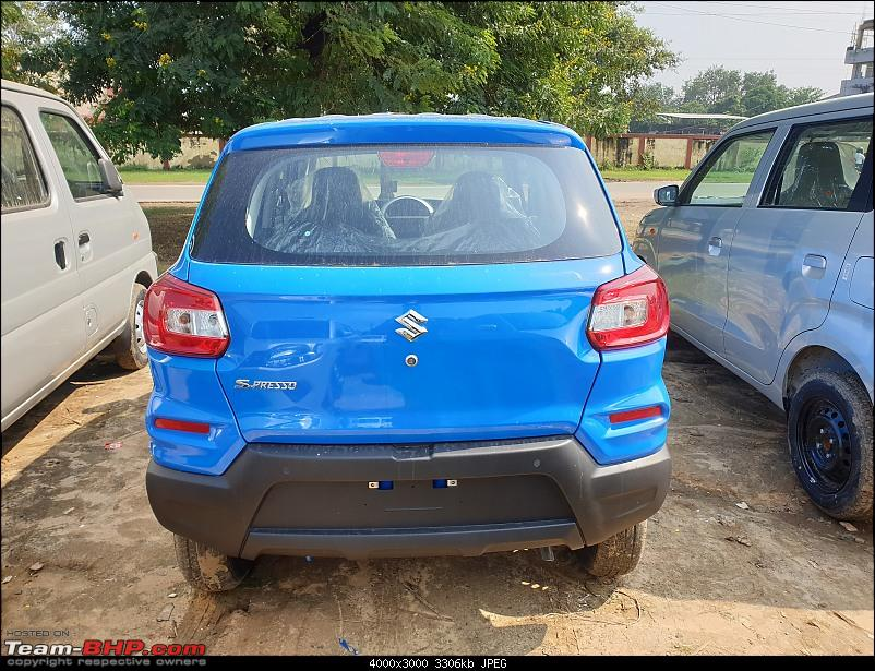 Maruti S-Presso, the SUV'ish hatchback. EDIT : Launched at Rs. 3.69 lakhs-20191028_122212.jpg