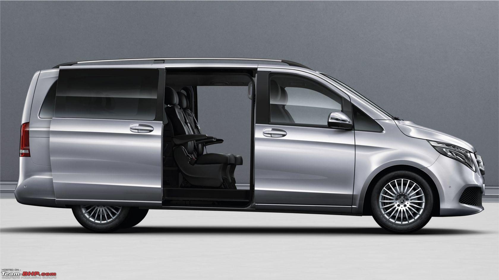 Mercedes-Benz V-Class Elite launched at Rs. 1.1 crore ...