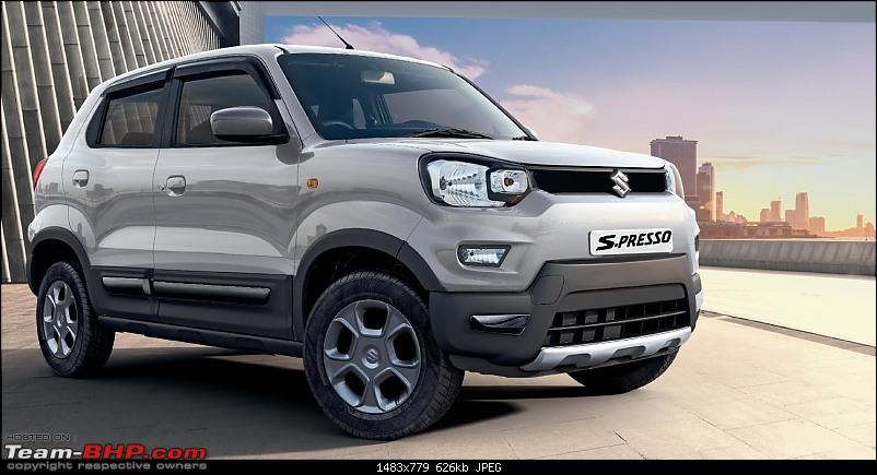 Maruti S-Presso, the SUV'ish hatchback. EDIT : Launched at Rs. 3.69 lakhs-spresso3a.jpeg