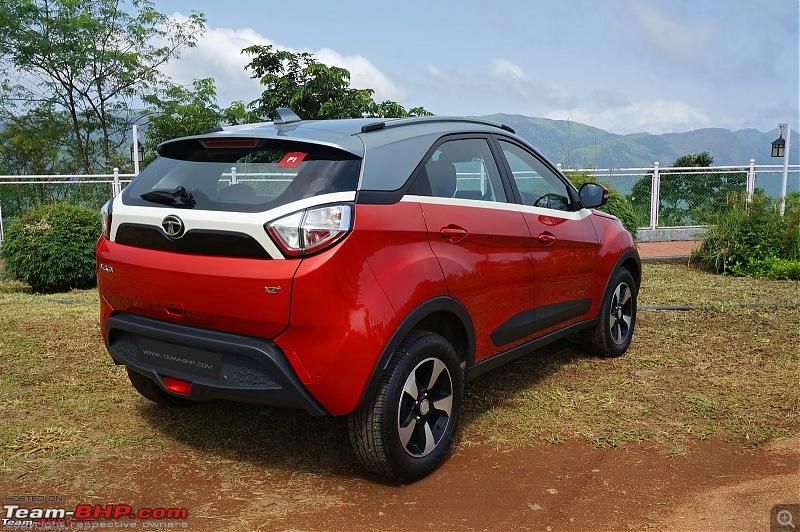 Tata Nexon Facelift spied. EDIT: Launched at Rs 6.95 lakh-nexonbumper.jpg