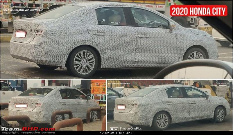 Scoop! 5th-gen Honda City spotted testing in India EDIT: Launched at Rs. 10.9 lakhs!-2020hondacity3e1574454876212.jpg