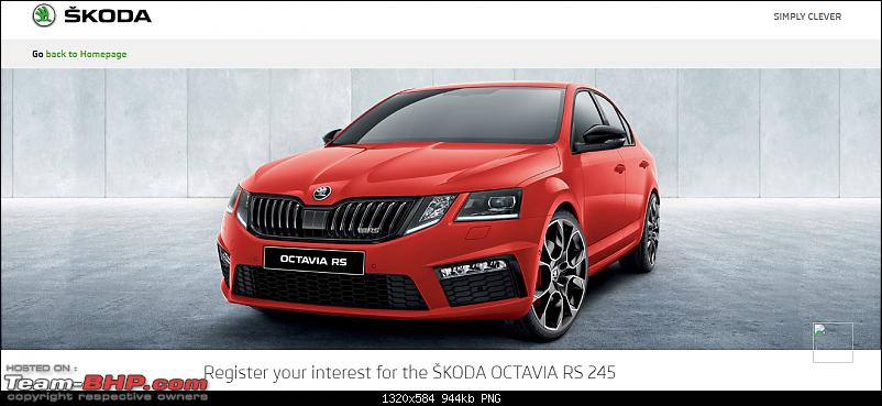 Skoda Octavia RS 245 confirmed for India. Edit: Launched @ 36 lakhs-1.png