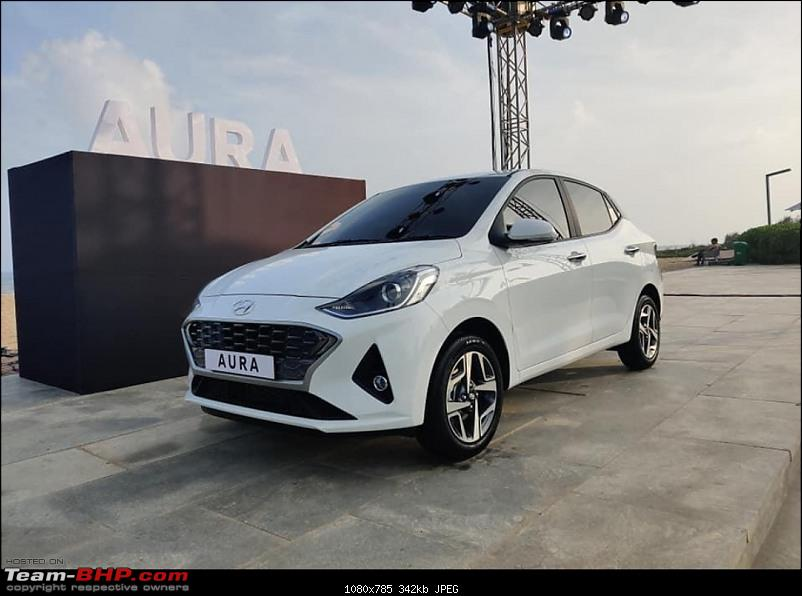 Hyundai Aura (2nd-gen Hyundai Xcent). Edit: Launched at 5.8 lakhs-20191219_170321.jpg