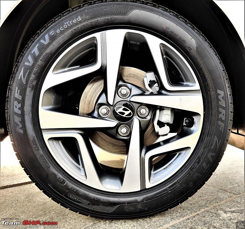 Hyundai Aura (2nd-gen Hyundai Xcent). Edit: Launched at 5.8 lakhs-alloy-wheel.jpg