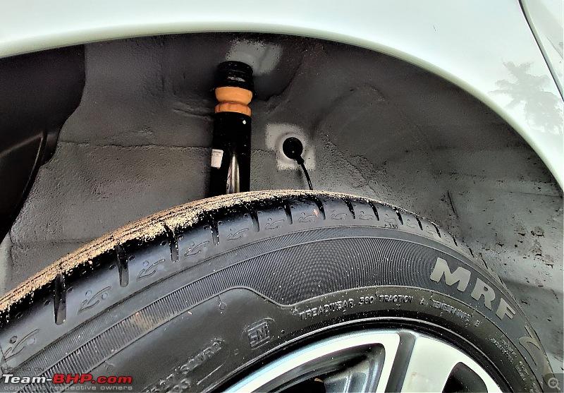 Hyundai Aura (2nd-gen Hyundai Xcent). Edit: Launched at 5.8 lakhs-rear-wheel-well.jpg