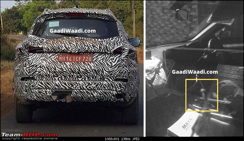 The Tata Gravitas (H7X) SUV. EDIT: Branded as the Safari!-tatagravitasatspied11068x601.jpg