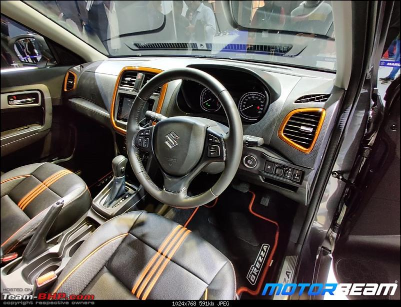 Maruti Vitara Brezza 1.5L petrol. Edit: Launched at Rs 7.34 lakh-12.jpg