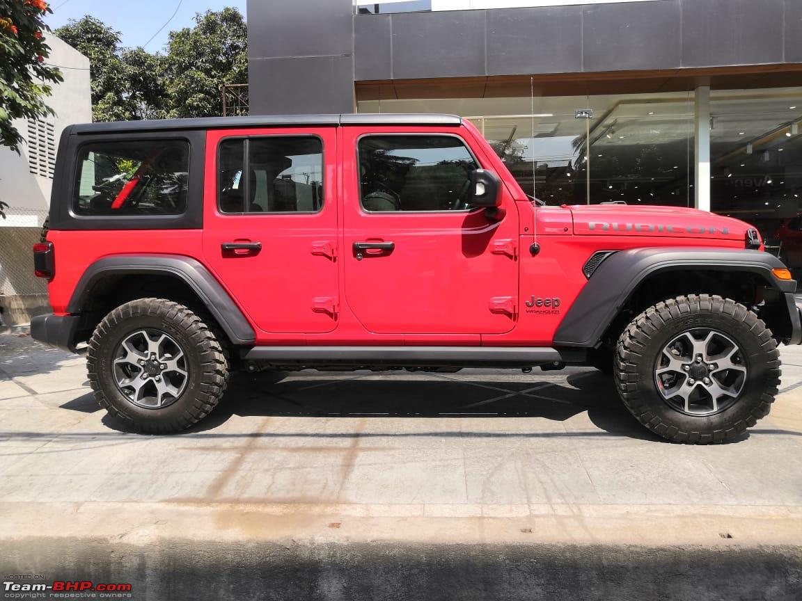 Jeep Wrangler Unlimited Rubicon Launch In India Feb Mar 2020 Team Bhp