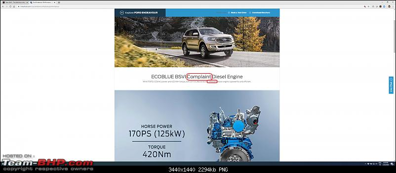 The BS6 Ford Endeavour with new 2.0L diesel engine, now launched at 29.55 lakhs-endevaour.png