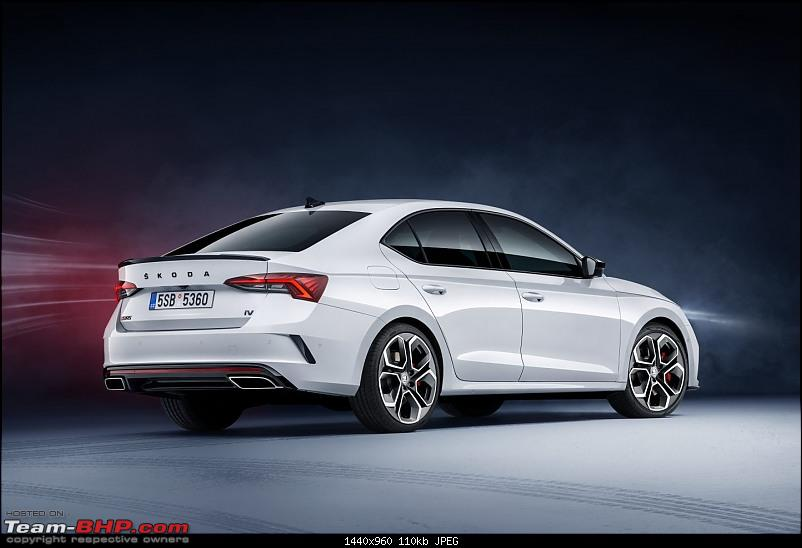 The 4th-gen Skoda Octavia. EDIT: India launch pushed to 2021-5octaviars_liftback_34rear11440x960.jpg