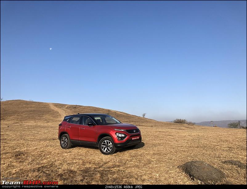 The BS6 Tata Harrier with 6-speed AT. EDIT: Launched @ 13.69 lakhs-es9kf5vuwaaanv.jpg