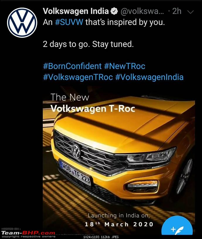 The Volkswagen T-Roc, now launched @ Rs 19.99 lakhs-1584376003002.jpg