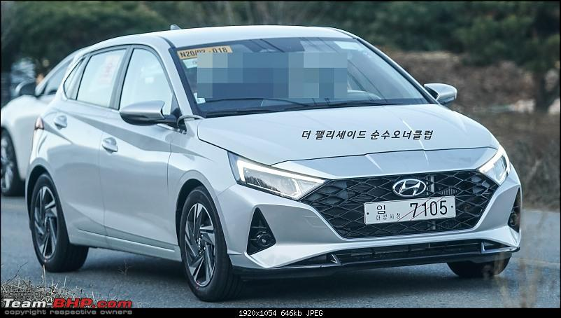 Third-gen Hyundai i20 spotted testing in Chennai. Edit: Launched at 6.79 lakhs-2020hyundaii20spypicturebba3.jpg