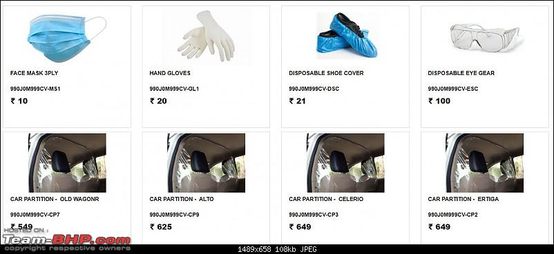Maruti launches PPE & car care accessories for Covid-19-ppe.jpg