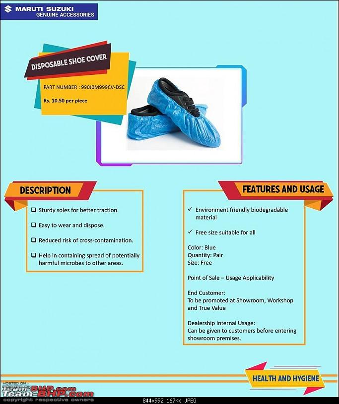 Maruti launches PPE & car care accessories for Covid-19-shoe-cover.jpg