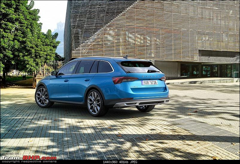 The 4th-gen Skoda Octavia. EDIT: India launch pushed to 2021-2octavia_scout_2066_rear_f211440x960.jpg