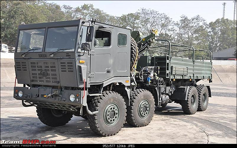 Pics: Cars of the Indian President & Prime Minister-tata-combatsupport8x805.jpg