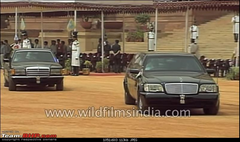 Pics: Cars of the Indian President & Prime Minister-w126.jpg