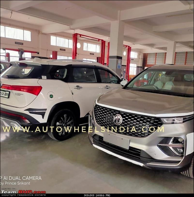 6-seater MG Hector Plus spotted testing. EDIT: Launched at Rs. 13.49 lakh-2.png