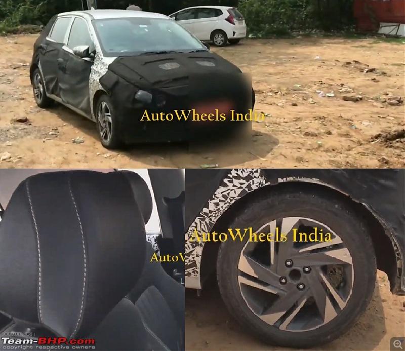 Third-gen Hyundai i20 spotted testing in Chennai. Edit: Launched at 6.79 lakhs-hyundaielitei20testmulewalkaroundvideocf7c.jpg