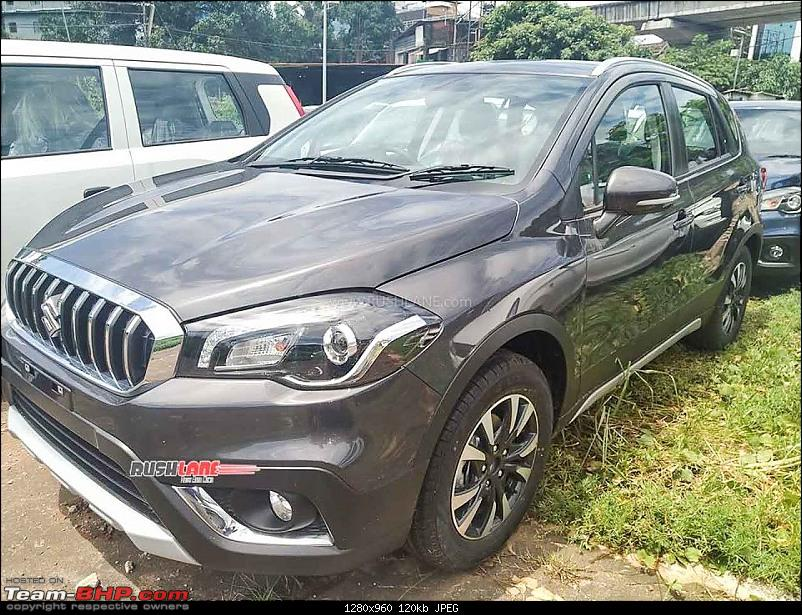 Maruti S-Cross 1.5L Smart Hybrid Petrol, now launched at Rs. 8.39 lakhs-marutiscrosspetroldealertestdrive1.jpg