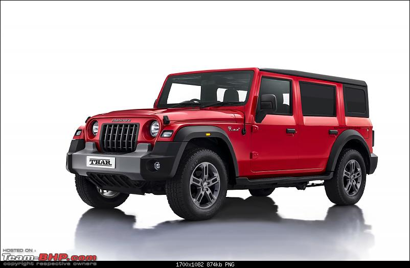 The 2020 next-gen Mahindra Thar : Driving report on page 86-thar-5-door-01.png