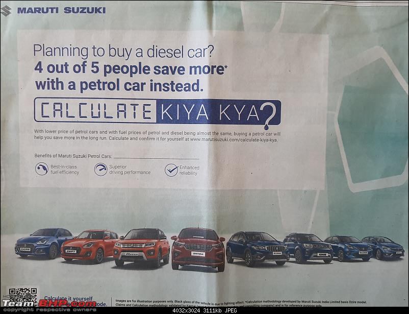 Maruti now says = Diesel car costs can only be recovered after 260,000 km-20200825_085643.jpg