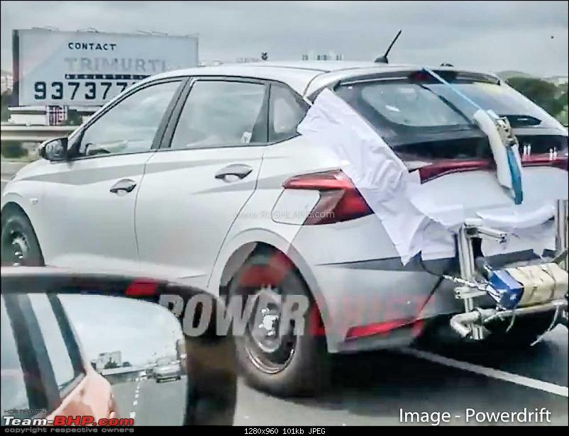 Third-gen Hyundai i20 spotted testing in Chennai. Edit: Launched at 6.79 lakhs-i20a.jpg