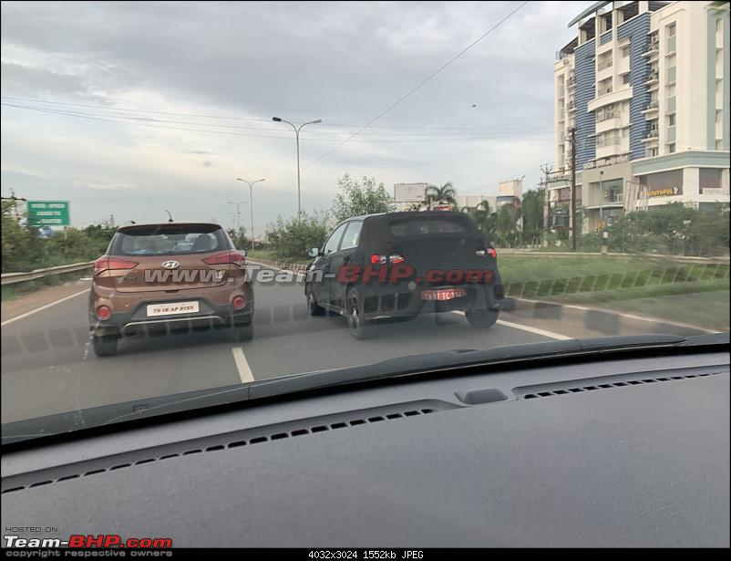 Third-gen Hyundai i20 spotted testing in Chennai. Edit: Launched at 6.79 lakhs-img5915.jpg