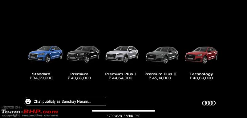 Rumour: Audi Q2 India launch in September 2020-9a395a3274814f23beee0080c586d7a3.png