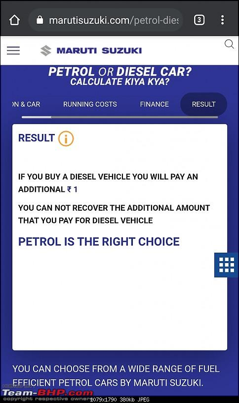Maruti now says = Diesel car costs can only be recovered after 260,000 km-screenshot_20201029010932_chrome.jpg