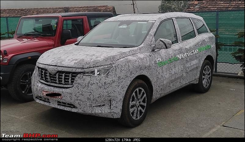The 2nd-gen Mahindra XUV500, coming in Q3-2021-2021mahindraxuv500frontquartersspyshot.jpg