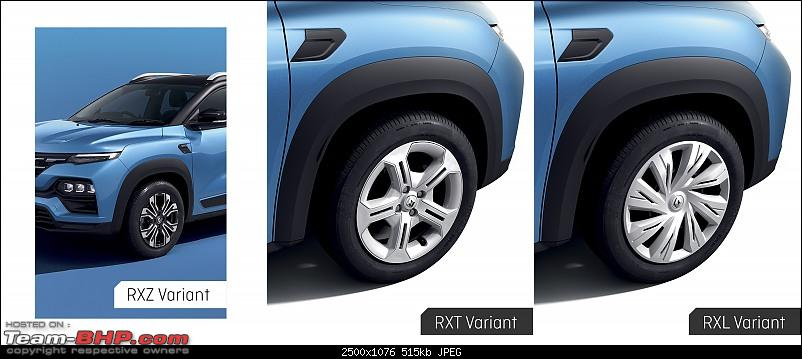 Renault Kiger Crossover launched at Rs. 5.45 lakh. EDIT: Driving report on page 19-wheel-designs.jpg
