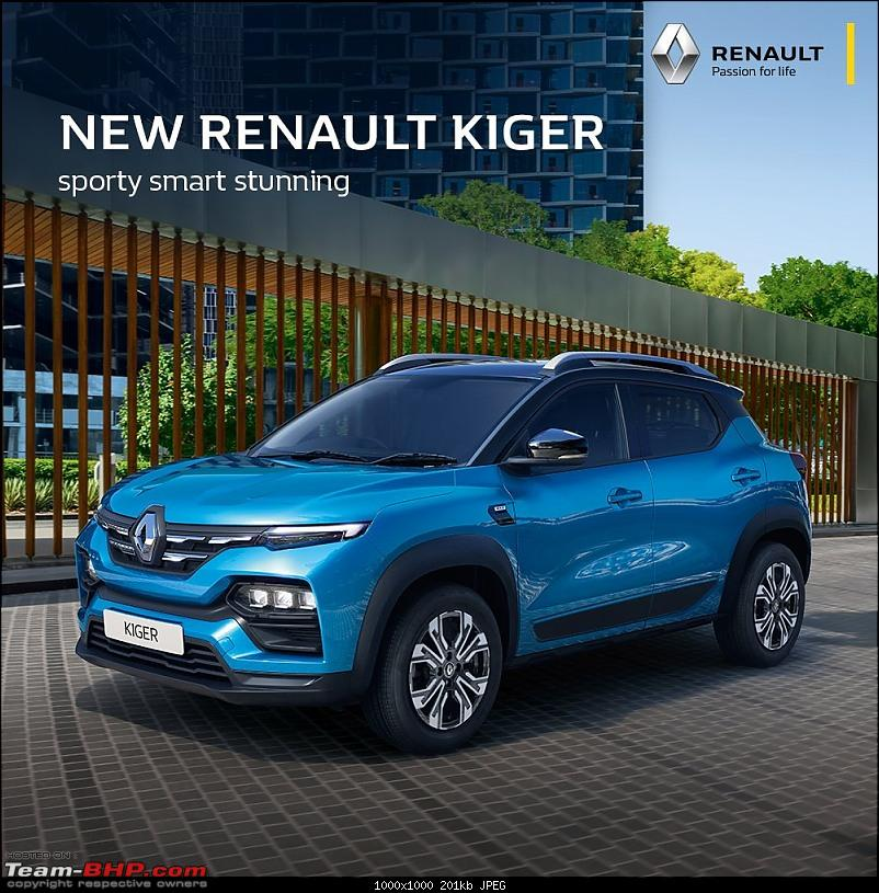 Renault Kiger Crossover launched at Rs. 5.45 lakh. EDIT: Driving report on page 19-20210211_105451.jpg