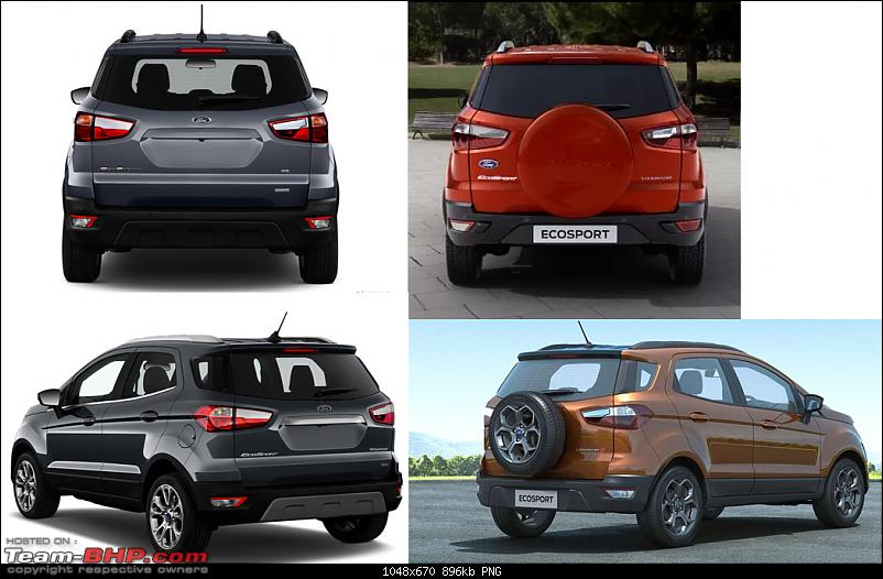 Ford EcoSport SE variant dealer dispatches begin; no tailgate-mounted spare-ecosport-new-n-old.png