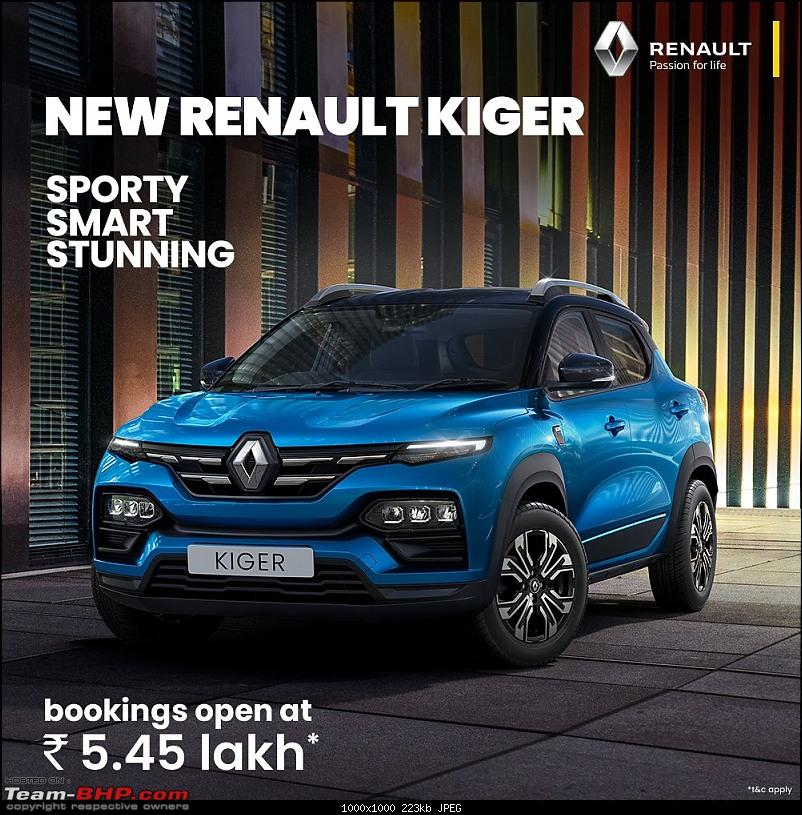 Renault Kiger Crossover launched at Rs. 5.45 lakh. EDIT: Driving report on page 19-20210226_210225.jpg