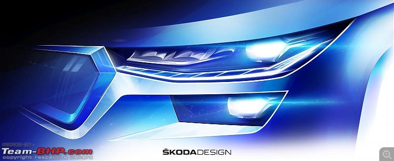 Rumour: Skoda Kodiaq to get 1.5L petrol engine option-210330_skodakodiaqsketchheadlight2.jpg