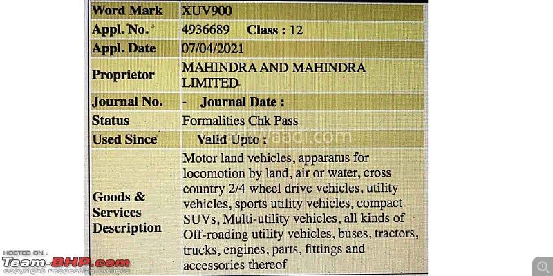 Mahindra will not enter sedan & mini SUV segments-mahindraxuv900trademarked4.jpg