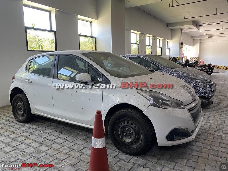 Peugeot 208 facelift caught testing in India-img_7082.jpg