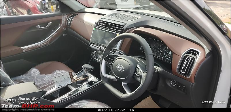7-seater Hyundai Alcazar launching in June 2021. EDIT: Launched at Rs. 16.30 lakhs-interiors.jpg