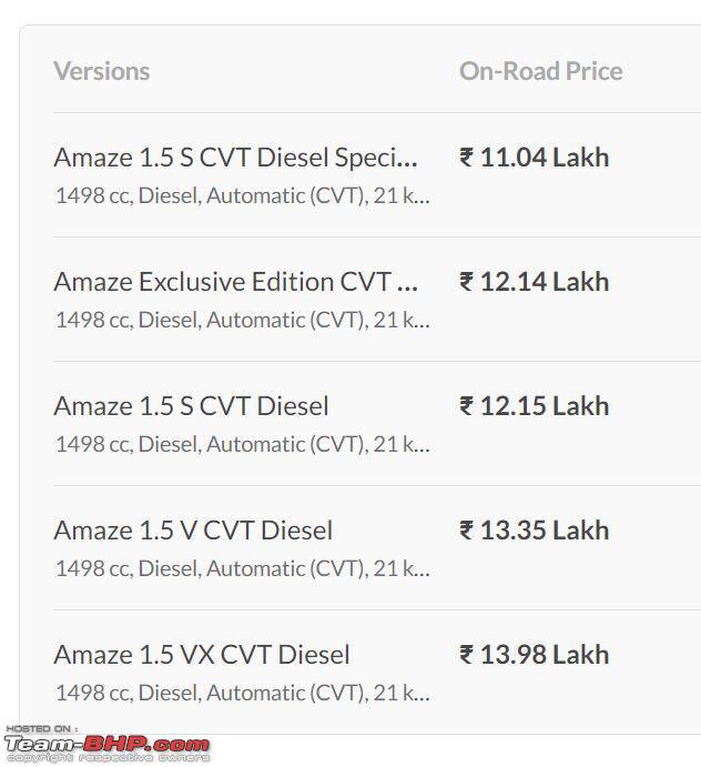Name:  amaze price.JPG Views: 3934 Size:  52.9 KB