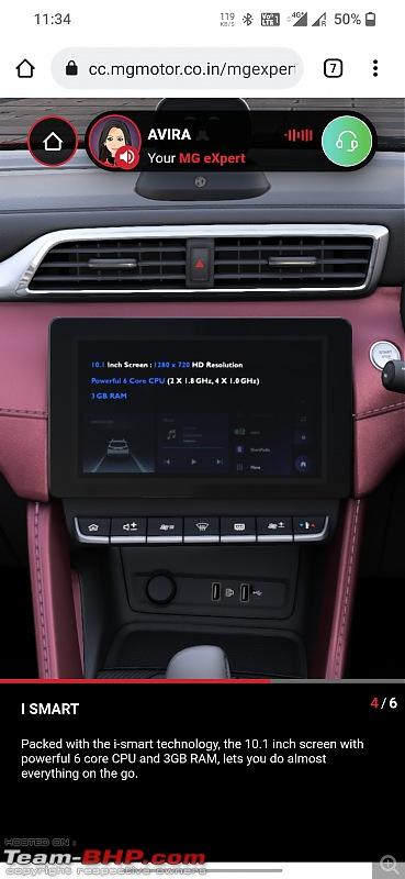 MG considering petrol ZS for India. Edit: MG Astor unveiled-screenshot_20210915233449.jpg