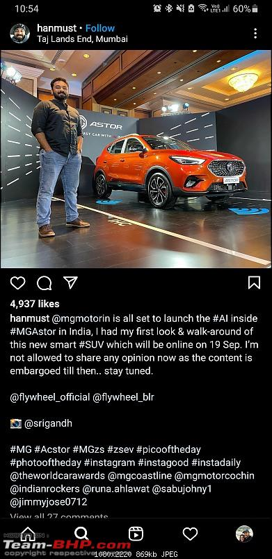 MG considering petrol ZS for India. Edit: MG Astor unveiled-screenshot_20210916225500_instagram.jpg