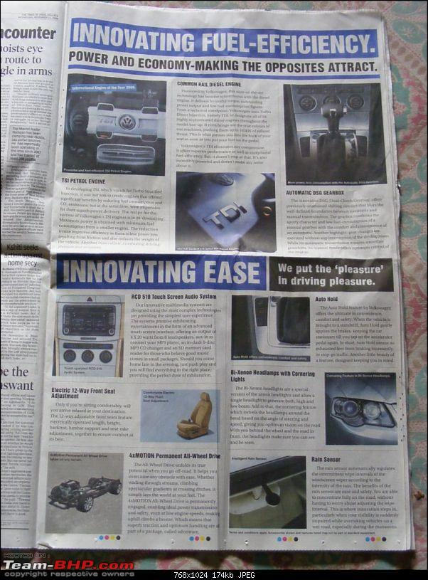 Times of India? Nope, VW of India. EDIT: Vibrating ad on 11 Sept 2012 (Pg 26)-dscf7004.jpg