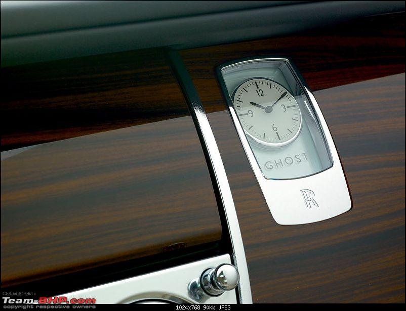 Rolls Royce's 'Ghost' to haunt Indian roads on 4th Dec EDIT: Launched pics on Page 3-ghostfacia_clock.jpg
