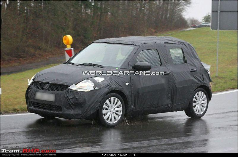 Spyshots: 2010-2011 Maruti Suzuki Swift 2. EDIT: More pics on pg 8 & pg 16!-ns-5.jpg